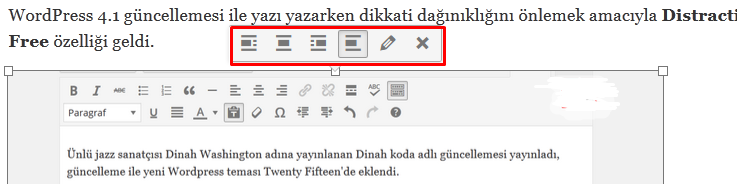 wordpress resim ekleme