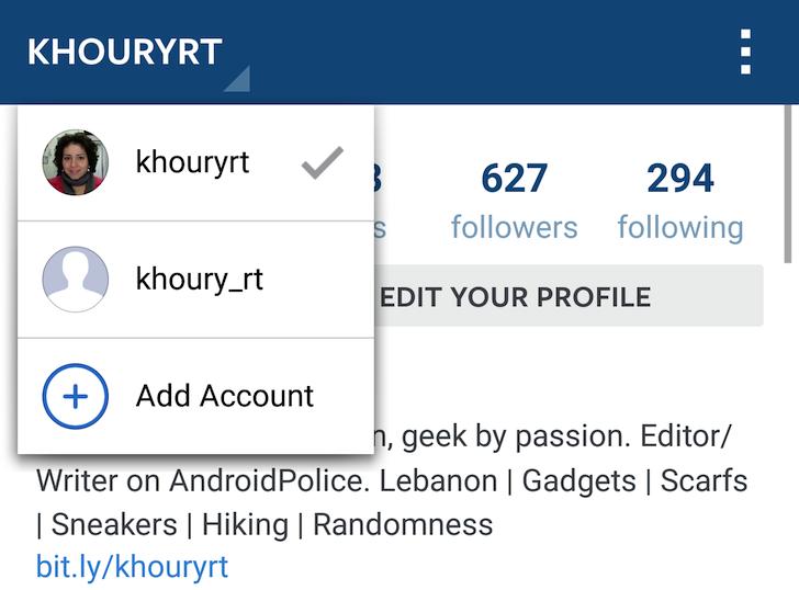 çoklu instagram